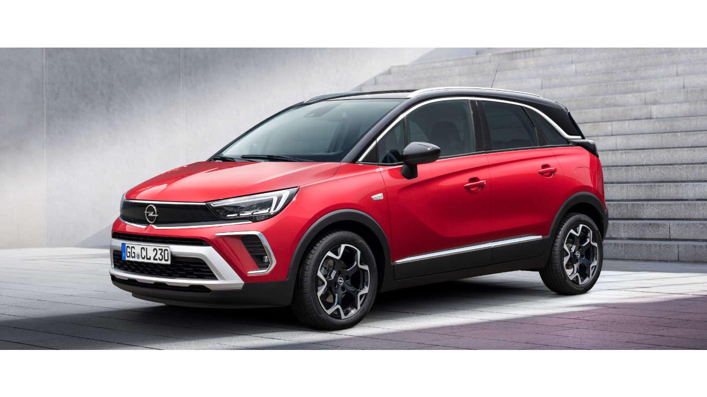 Новий Opel Crossland 2021: змінилася не тільки зовнішність