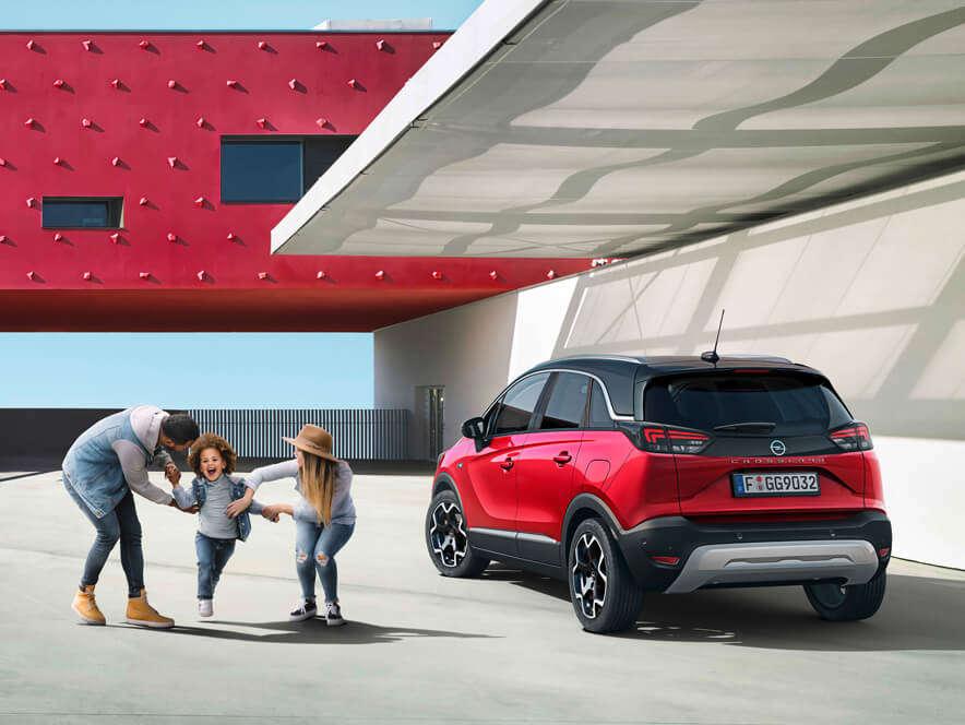 Opel Crossland, викиди ватмосферу