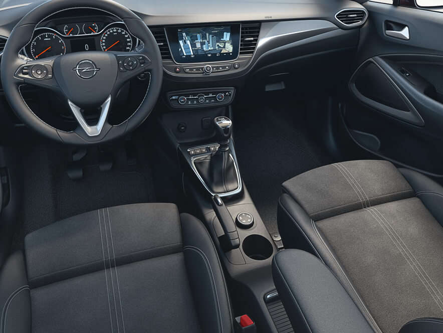 Opel Crossland, Підігрівання сидінь, керма талобового скла