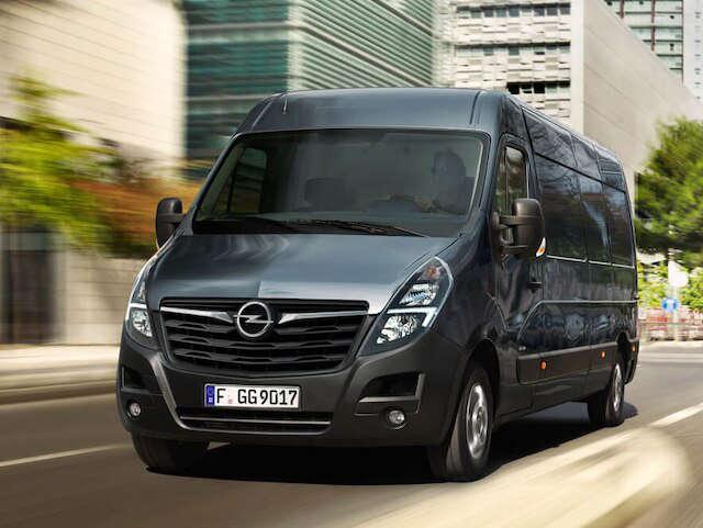 Opel, Movano, зовнішній вигляд