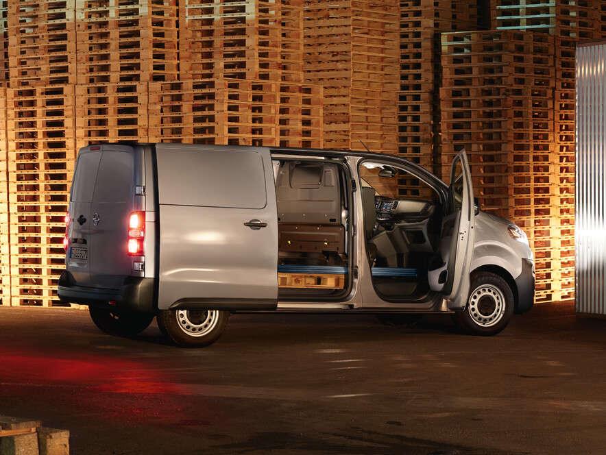 Opel, Vivaro, зовнішній вигляд, Flexcargo